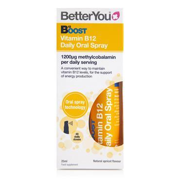 BetterYou Vitamin B12 Boost Daily Oral Spray 25ml