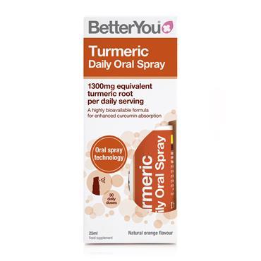 BetterYou Turmeric Daily Oral Spray 25ml