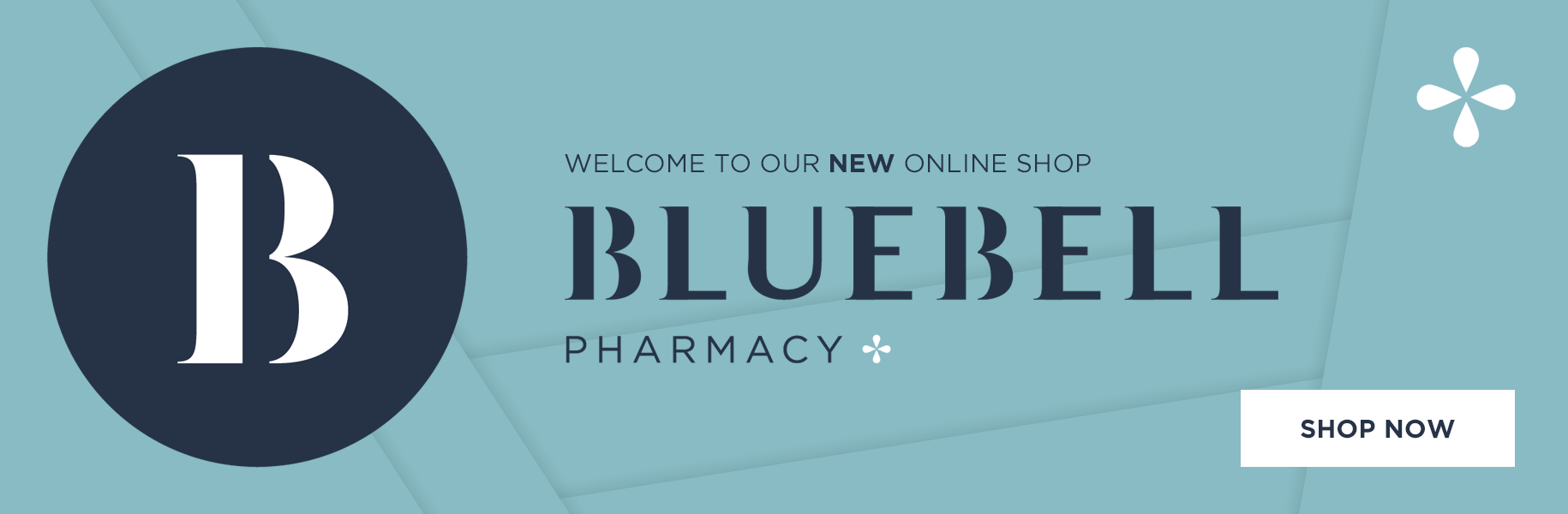 Welcome to the new Bluebell Pharmacy online shop