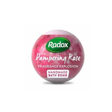 RADOX PAMPERING ROSE BATH BOMB