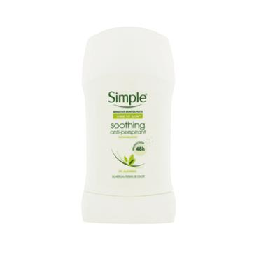 SIMPLE SOOTHING DEO STICK