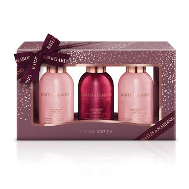 CRANBERRY MARTINI TRIO GIFT SET
