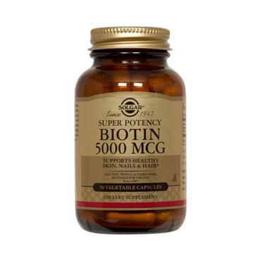 BIOTIN 5000UG 50'S