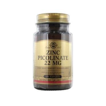 ZINC PICOLINATE 22MG 100S