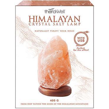 THERAWELL USB HIMALAYAN SALT LAMP