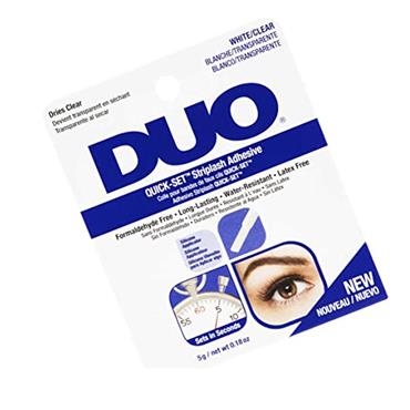 DUO QUICK SET LASH ADHESIVE WHITE/CLEAR