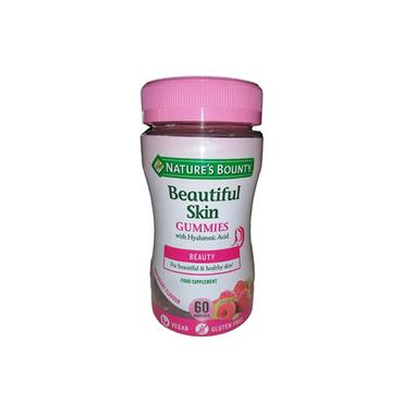 NATURES BOUNTY BEAUTIFUL SKIN GUMMIES 60S