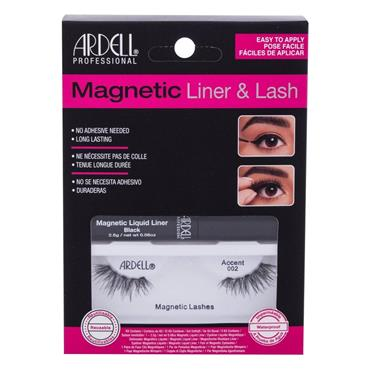 ARDELL MAGNETIC LASHES + LINER 002