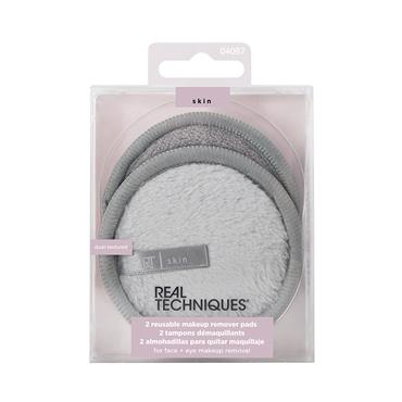 2 REUSABLE MAKE UP REMOVER PADS