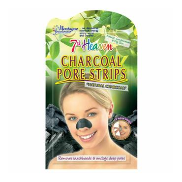 7TH HEAVEN CHARCOAL PORE STRIPS 3 PACK