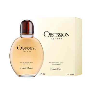 OBSESSION FOR MEN EDT 125ML