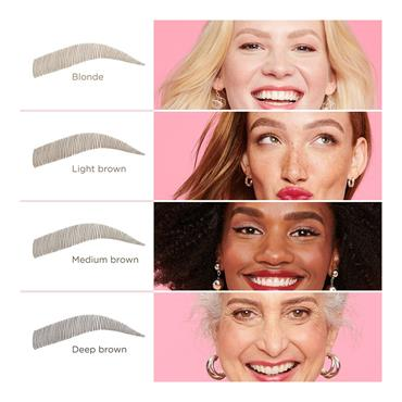 BROW MICROFILLING PEN - DEEP BROWN