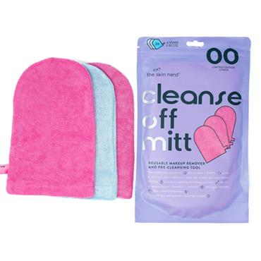 CLEANSE OFF MITT 3 PACK