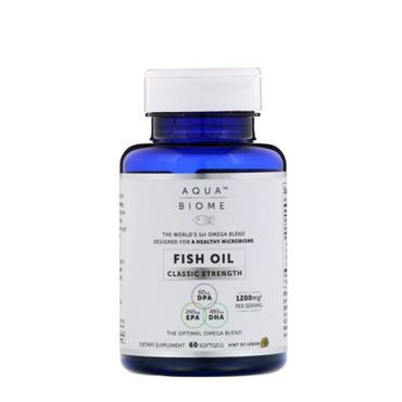AQUA BIOME FISH OIL CLASSIC STRENGTH 60S