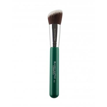 F21 ANGLED CONTOUR FACE BRUSH GREEN