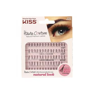 KISS HAUTE COULTURE INDIVIDUAL LASHES COMBO - LUXE
