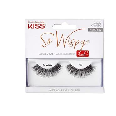 KISS LASHES SO WISPY 02