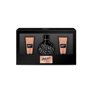 JAMES BOND 007 FOR WOMAN 50ML TRIO SET