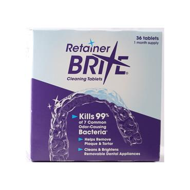 RETAINER BRITE 36 TABLET