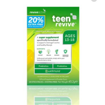 TEEN REVIVE 20 STICK PACKS