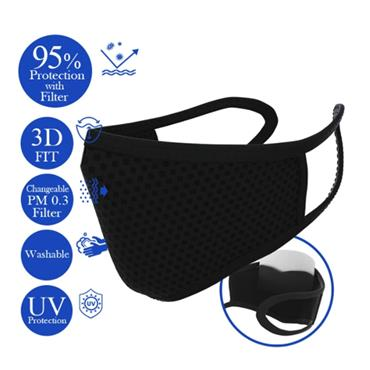 DOUBLE DARE BYE! BYE! GERMS CHANGEABLE FILTER MASK
