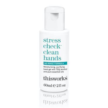 STRESS CHECKS CLEAN HANDS 60ML