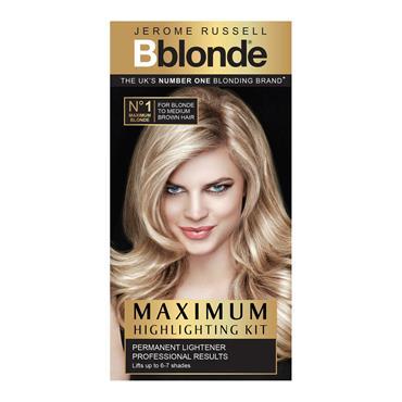 BBLONDE MAXIMUM HIGHLIGHTING KIT no1 for light to dark brown hair