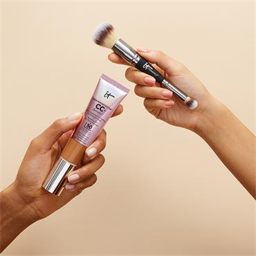 HEAVENLY LUXE DUAL AIRBRUSH FOUNDATION /CONCEALER BRUSH #7
