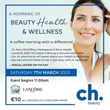 LANCOME BEAUTY, HEALTH & WELLNESS EVENT
