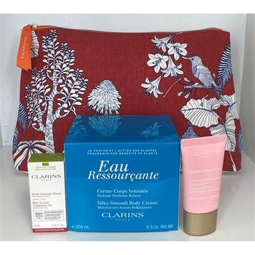 CLARINS EAU RESOURCANTE HAMPER