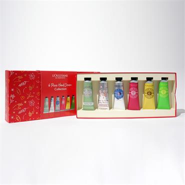 6 PIECE HAND CREAM COLLECTION