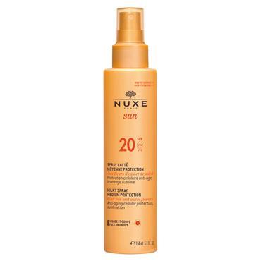 NUXE SUN MILK SPRAY FACE/BODY SPF20