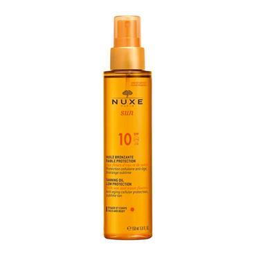 NUXE SUN TAN OIL FACE/BODY SPF10