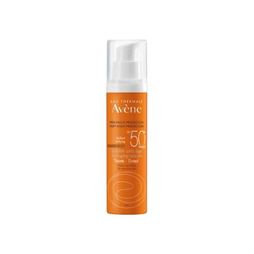 SOLAIRE ANTI AGE TEINTED SPF50
