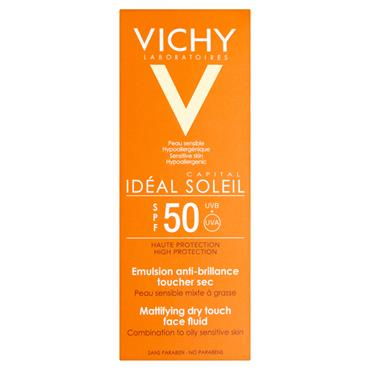 IDEAL SOLEIL FACE DRY TOUCH SPF50 50ML