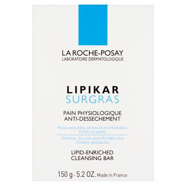 LIPIKAR SOAP CLEANSING BAR 150G