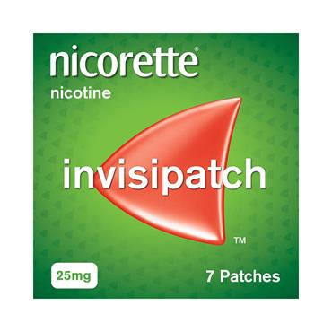 INVISIBLE PATCH 25MG 7S