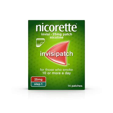 INVISIBLE PATCH 25MG 14S