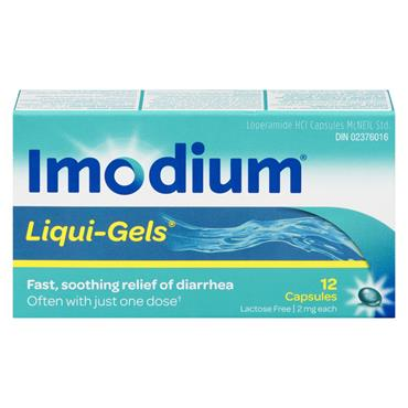 IMODIUM LIQUIGELS 12'S