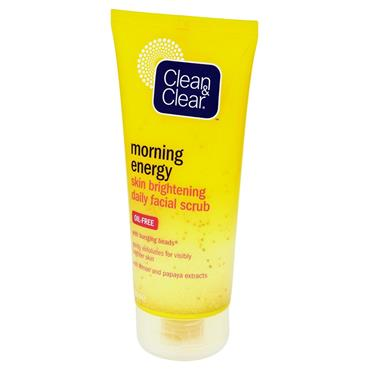 CLEAN&CLEAR MORNING ENERGY BRIGHTENING SCRUB