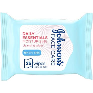 DAILY ESSENTIALS FACE WIPES DRY