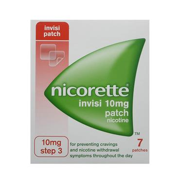 INVISIBLE PATCH 10MG 7S