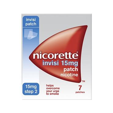 INVISIBLE PATCH 15MG 7 PACK