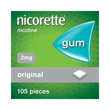 NICORETTE GUM 2MG 105 PACK