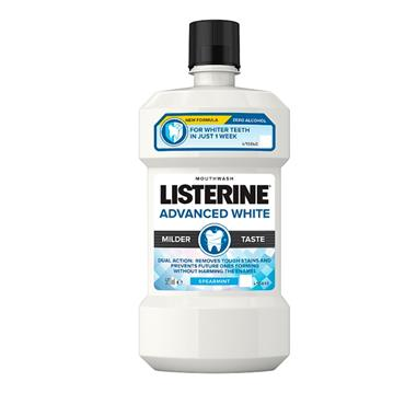 LISTERINE ADVANCED WHITE MOUTHWASH SPEARMINT 500ML