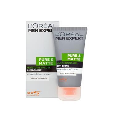 MEN EXPERT PURE & MATTE GEL MOISTURISER 50ML