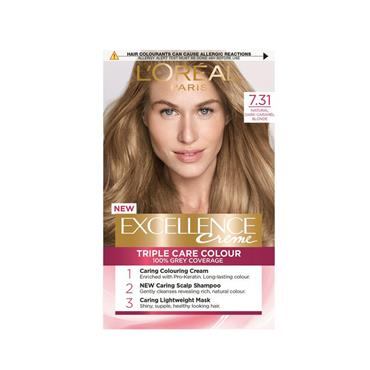 EXCELLENCE 7.31 NATURAL DARK CARAMEL BLONDE