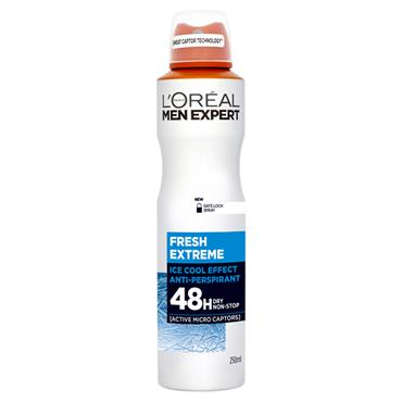 MEN EXPERT FRESH EXTREME 48H ANTI-PERSPIRANT DEODORANT 250ML