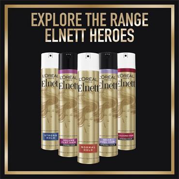 ELNETT STRONG HOLD ARGAN OILSHINE 75ML HAIRSPRAY