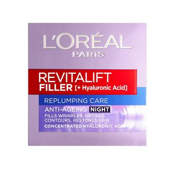 REVITALIFT FILLER NIGHT CREAM 50ML